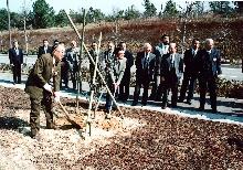 1995〜1996年度 創立20周年記念植樹